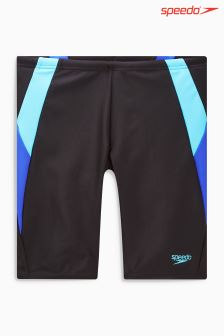 Speedo® Black/Blue Colourblock Jammer Short