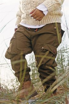 Lined Cargo Trousers (3mths-6yrs)