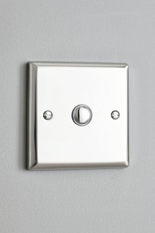 Single LED And Halogen Dimmer Light Switch