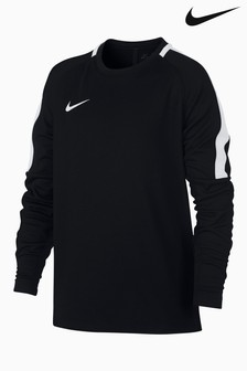 Nike Black Dry Academy Football Crew