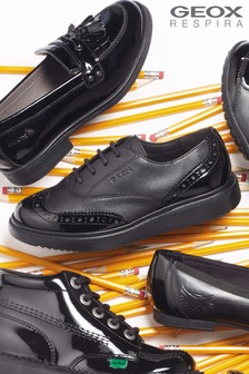 Geox Jr Black Thymar Shoe