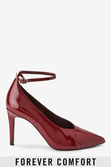 Forever Comfort® Ankle Strap Court Shoes