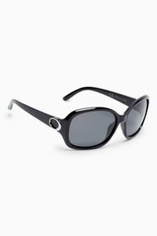 3296ee361e8 Medium Square Polarised Sunglasses