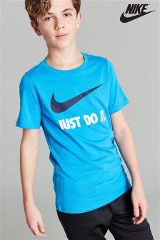Nike Just Do It. Swoosh Logo T-Shirt