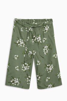 Floral Culottes (3-16yrs)