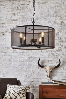 Mesh 4 Light Pendant