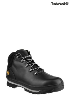Timberland® Pro Black Splitrock Lace-Up Safety Boots