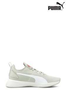Puma Grey Flyer Runner Junior Trainers