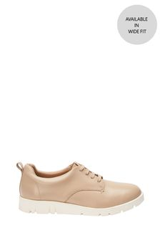 Forever Comfort® With Motion Flex Leather Lace-Up Shoes