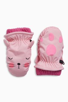 Character Ski Mitts (Younger)
