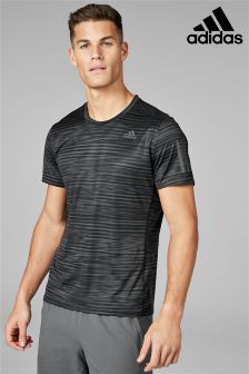 adidas Run Black Stripe Response T-Shirt