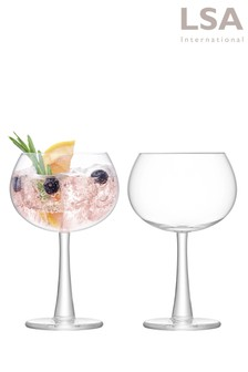 Set of 2 LSA International Gin Balloon Glasses