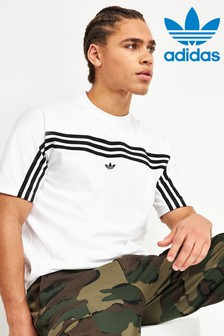 adidas Originals Wrap 3 Stripe T-Shirt