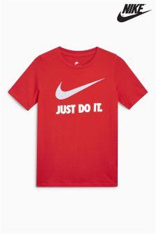 Nike Just Do It. Swoosh Logo Tee