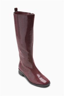 Snake Effect Tall Boots (Older)
