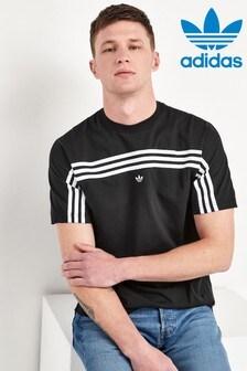 adidas Originals Wrap 3 Stripe T-Shirt
