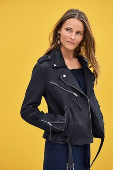 Leather Biker Jacket