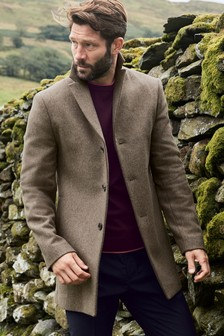 Italian Fabric Epsom Coat