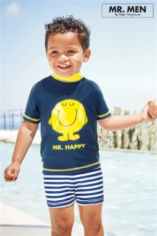 Mr Happy™ Two Piece Sunsafe Suit (3mths-6yrs)