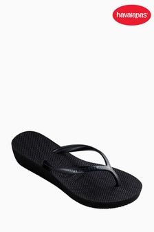 Havaianas® Black Highlight Wedge