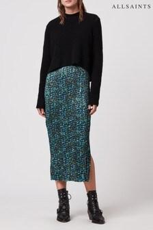 AllSaints Black Opal Ansel 2-In-1 Jumper Dress