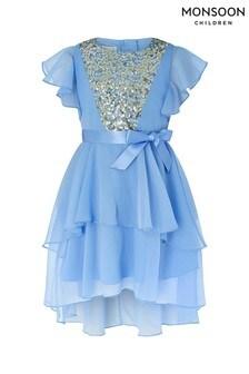 Monsoon Blue Angelina Dress