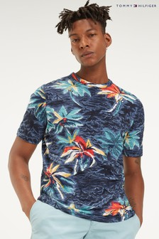 Tommy Hilfiger Palm All Over Print T-Shirt