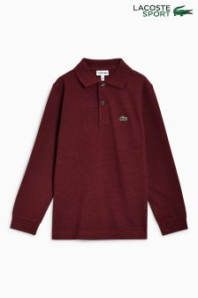 Lacoste® Sport Long Sleeved Polo