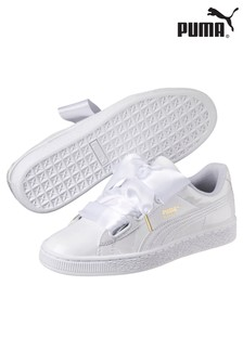Puma® Basket Heart Patent Trainers