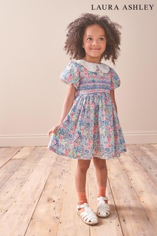 Laura Ashley Younger Girl Smock Prom Dress