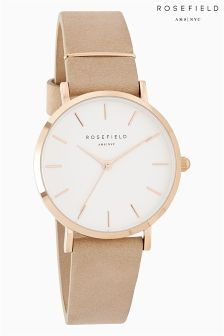 Rosefield West Village Nude Watch