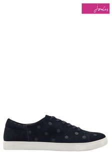 Joules Blue Solena Luxe Cupsole Trainer