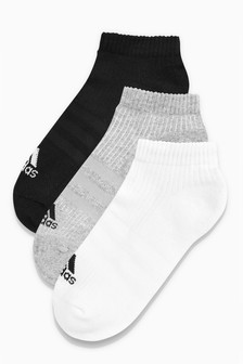 adidas Adult ¾ Socks 3 Pack