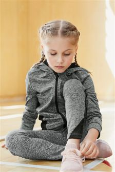 Sports Zip Through Hoody (3-16yrs)