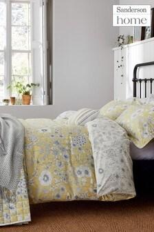 Sanderson Home Maelee Floral Cotton Duvet Cover