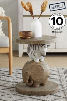Stacked Animal Side Table