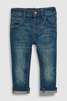 Regular-fit jeans met stretch (3 mnd-7 jr)