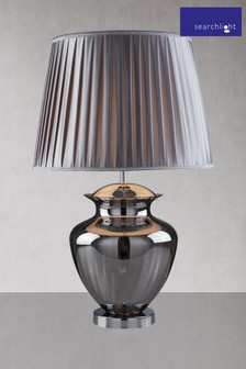 Aurora Large Glass Urn Table Lamp by Searchlight