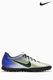 Nike Grey/Black Neymar Mercurial Vortex Turf