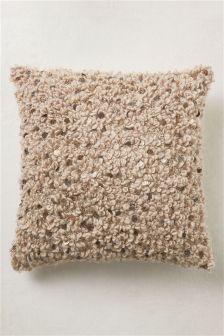 Woolly Sequin Cushion