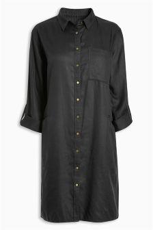 Tencel® Shirt Dress