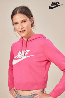 Sweat à capuche Nike Rally court rose