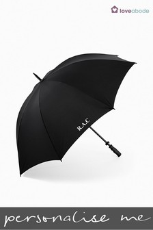 Personalised Golf Umbrella by Loveabode