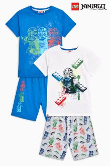 LEGO® Ninjago Pyjamas Two Pack (4-12yrs)