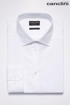 Signature Textured Canclini Fabric Shirt