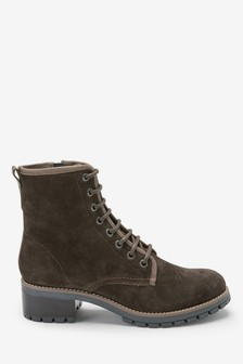 Forever Comfort® Lace-Up Ankle Boots