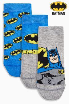 Trzy pary skarpet Batman® (Młodsi)