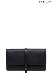 Radley Black Merton Road Large Flap-Over Matinee Bag