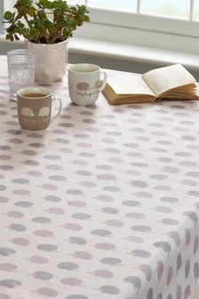 Wipe Clean Hedgehog Tablecloth
