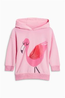 Flamingo Hoody (3mths-6yrs)